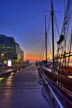 Harbour Front Boardwalk, Toronto, Canada