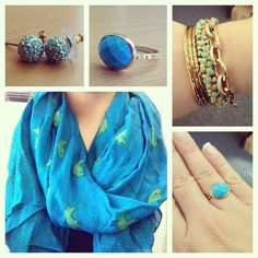 Blue | accessories by Stella & Dot repin for a chance to win http://www.stelladot.com/denikaclay