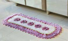 Tapete Branco e Lilás – Barroco Multicolor