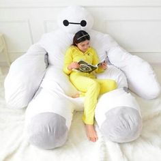 You'll Never Want to Get Up With This #Baymax Bed  #BigHero6