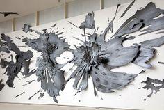 Fantastic paper sculpture by  Andreas Kocks