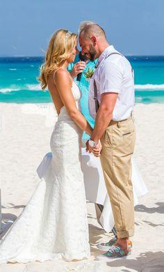Newlywed Bride And Groom On The Beach In Mexico Wedding Photography By Fun Sun Weddings Funinthesunweddings