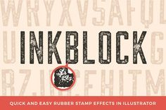 Inkblock – Illustrator Actions by Sivioco on @creativemarket