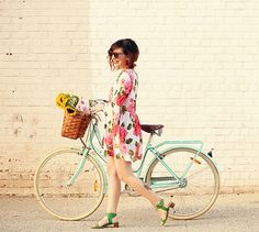 Sommer Ferst // Check out our retro bicycles // papillionaire.com