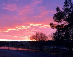 Sunrise at East Georgia State College