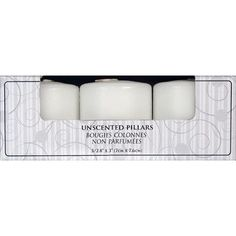 Fortune Products Candle-Lite Pillar Candle (Set of 2)