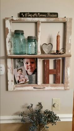 Love my new creation. Floating Shelves, Repurposed, Recycling, Crafty, My Love, Home Decor, Deko, Wall Mounted Shelves, Recyle