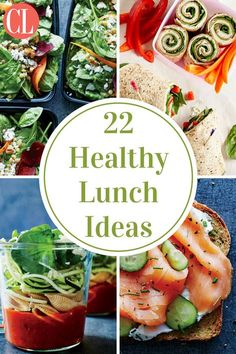 No more bland sandwiches, soggy salads, or boring soups here. These lunches are exciting, satisfying, and portable. | Cooking Light