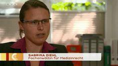 RTL - Punkt 12 vom 06.08.2015 - Ärztepfusch - Nach Mandel-OP schwerstbehindert - Rechtsanwaltskanzlei Sabrina Diehl