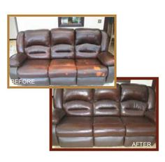 Did You Know That Damaged Leather Can Be Restored? Using Our Leather  Colourant Kit, You Can Have Your Leather Sofa Looking Like New, Saving  Yourselu2026