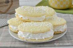 I biscotti paradiso al latte senza farina 00 sono perfetti per i celiaci ma anche per tutti e sono farciti con una crema facilissima da fare