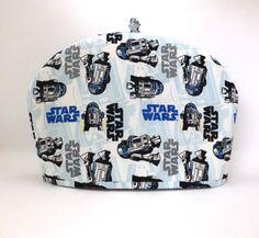 R2D2 Tea Cozy / Star Wars Teapot Warmer / by RedLeafStitchCraft