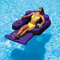 Overton's : Swimline Ultimate Floating Lounger - Watersports > Lake & Pool Leisure > Floats & Lounges : Swimming Pool Lounges, Pool Floats, Pool Chairs, Rafts
