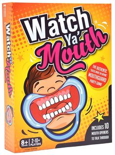 Watch Ya Mouth Family Edition The Authentic, Hilarious, Mouthguard Party Game
