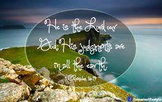 1 Chronicles 16:4 facebook.com/jesusisalifestyle