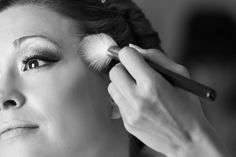Bride getting make-up done. Beauty LBK Photography on 500px Colorado Wedding Photographer