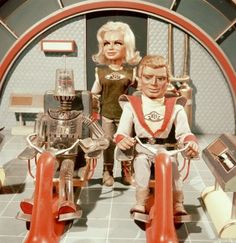 Robert the robot from Fireball Sci Fi Tv Shows, Sci Fi Series, Thunderbirds Are Go, Fantastic Show, Spaceship Concept, Old Shows, Lost In Space, Living Dolls, Movies