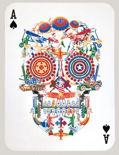Jacky Tsai - War Skull (Ace of Spades) on www.eyestorm.com