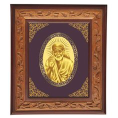 Lord Sai Baba Photo Frames, Good Luck Gifts, personalized Gifts