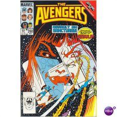 Avengers #260. Vol1. Marvel 1985. Secret Wars II. Black Knight, Hercules. VFN…