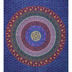 Mandala Tapestry Dorm Room Decor Wall Hanging by MandalaTapestrys