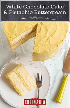 This cake is nothing short of extraordinary. It's delicately flavored with white chocolate and has a dreamy crumb. #whitechocolate #whispercake #whitechocolatecake Pistachio Butter, Cake Recipes, Dessert Recipes, Desserts, White Chocolate Cake, Vegetarian Bake, White Cakes, Chocolate Flavors, Cupcake Cakes