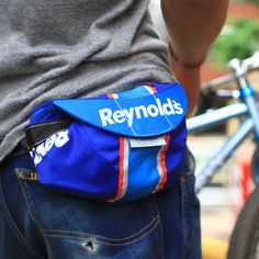 Small hip-pack made from race cap