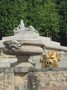 Château du Champ de Bataille: la grande cascade.