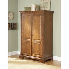 Riverside Seville Square Computer Armoire   $1505.25 @hayneedle