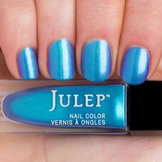 Julep Danielle - Cerulean wave duochrome (It Girl). Swatched. $7.