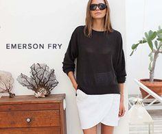 Le Fashion: BLACK + WHITE   GISELE BÜNDCHEN + ELIN KLING