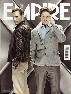 EMPIRE Magazine(UK)- May 2011 - X-Men : First class cover Limited Edition subscribers Edition cover