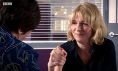HolbyCity Power struggle between Bernie (Jemma Redgrave) and Serena (Catherine Russell) Jemma Redgrave, Holby City, Cactus, Romantic, Tv, Sexy, People, Life, Women