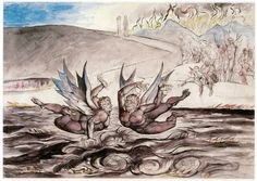 William Blake's Breathtaking Drawings for Dante's Divine Comedy, Over Which He Labored Until His Dying Day | Brain Pickings