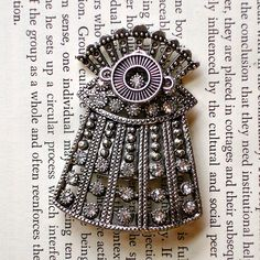Dalek Deco Brooch - Fancy Doctor Who Pin (by Futuregirl on etsy)