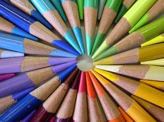 Doesn't this make you want to start doing some art? World Of Color, Color Of Life, Rainbow Art, Rainbow Colors, Image Crayon, Photo Macro, Rainbow Connection, Color Quotes, Still Photography