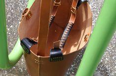 Tote Bag. Handcrafted Genuine Leather Shopper Bag Vintage in