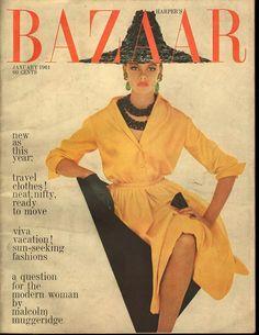 Harper's Bazaar January 1961 - Ephemera Forever
