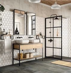 A few things to update you on! If you missed my post last night, go take a . Upstairs Bathrooms, Downstairs Bathroom, Small Bathroom, Dyi Bathroom, Master Bathroom, Bad Inspiration, Interior Design Inspiration, Bathroom Inspiration, Modern Bathroom Design