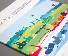 Corporate Social Responsibility Report on Behance
