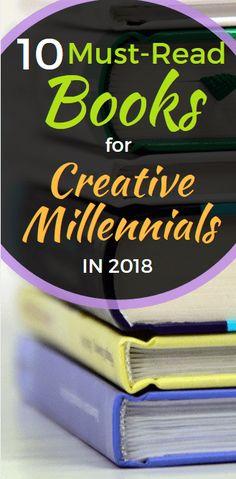 10 of the Most Inspiring Books for Creative Millennials - LaziMillennial