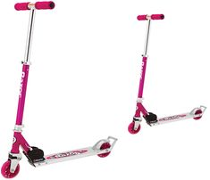 Razor in kick scooter daisy pink for girls from the folding and lightweight scooters in sale Kids Ride On Toys, Kids Scooter, Scooters, Cool Kids, Daisy, Kicks, Bellis Perennis, Vespas, Motor Scooters