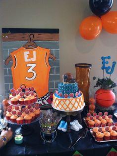 Marvelous Basketball Theme Baby Shower