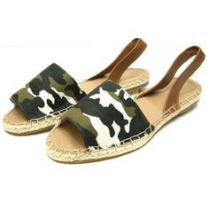 4ab077038bde Shop Women s size Various Sandals at a discounted price at Poshmark.  Description  Camo print