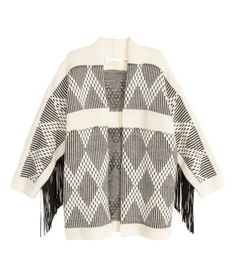 Cardigan with Fringe | Product Detail | H&M