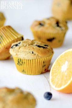 Blueberry Millet Muffins {Beard and Bonnet}
