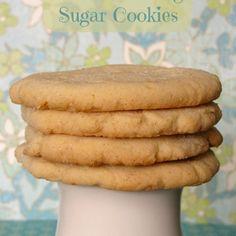 Vanilla Pudding Sugar Cookies *