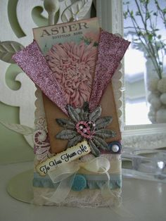 Pink Gift Tag