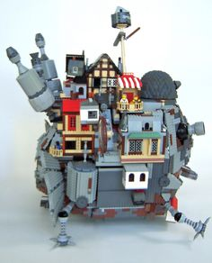 Howl's Moving Castle Right Side by Imagine