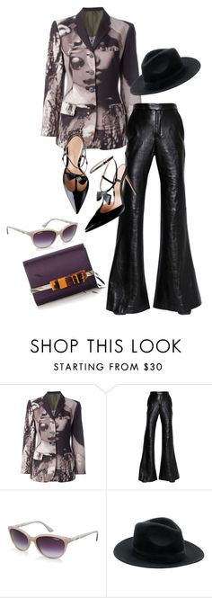 """""""Modern Retro Style"""" by clotheshawg ❤ liked on Polyvore featuring Jean-Paul Gaultier, E L L E R Y, Vogue, modern, women's clothing, women, female, woman, misses and juniors"""